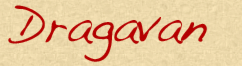 Dragavan's Signature